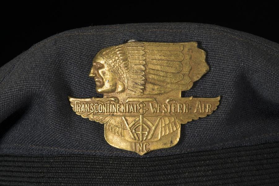 Cap, Pilot, Transcontinental and Western Air