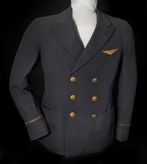 Coat, Pilot, Transcontinental and Western Air