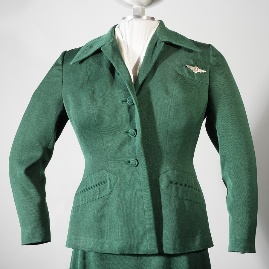 Coat, Flight Attendant, Western Airlines