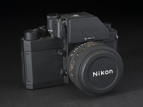 Black metal Nikon F Camera Dummy