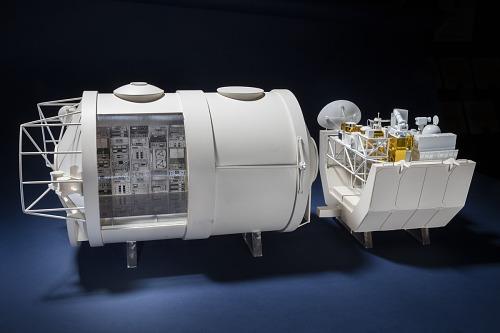 Model, Spacelab, 1:15