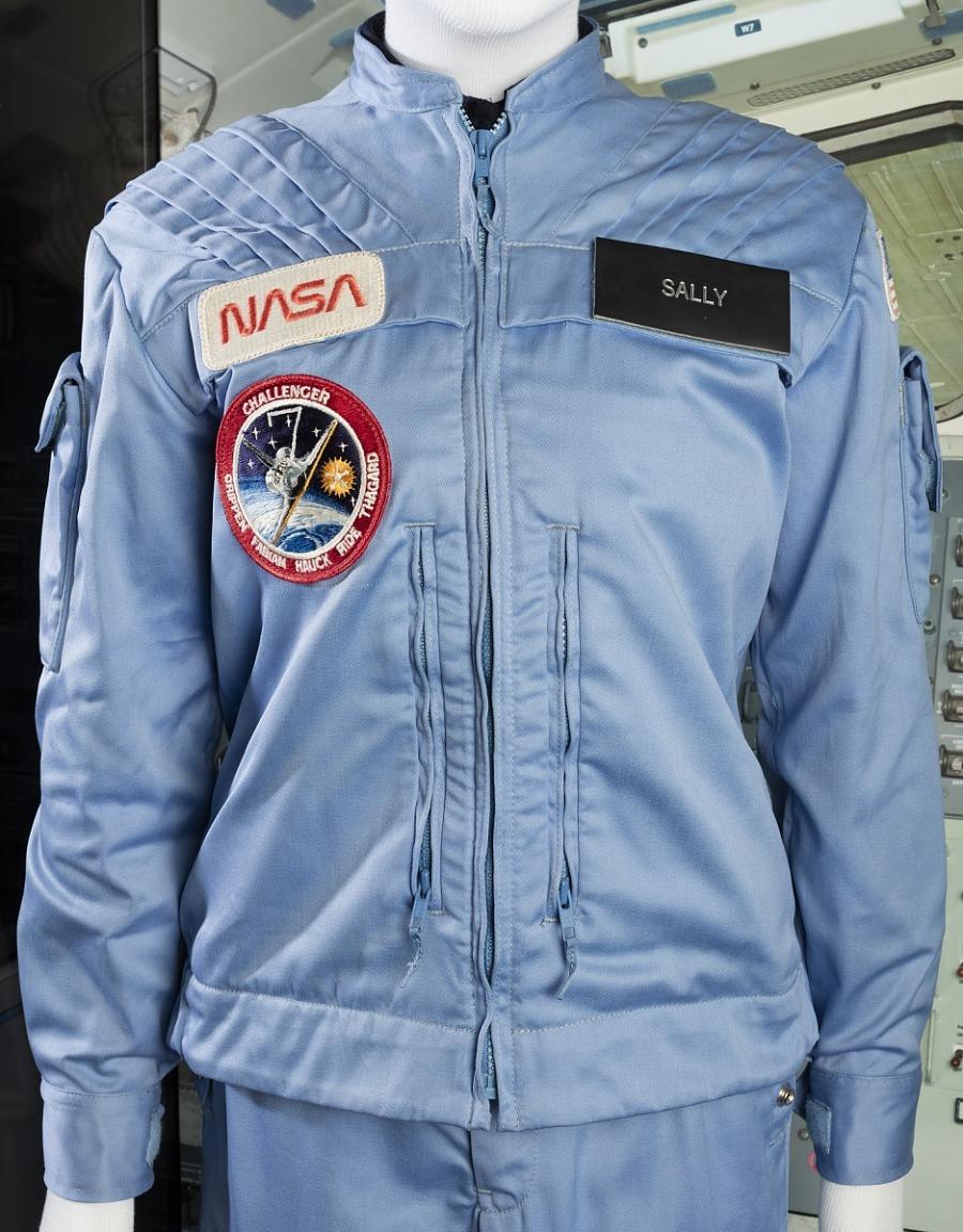 Jacket, In-Flight Suit, Shuttle, Sally Ride, STS-7