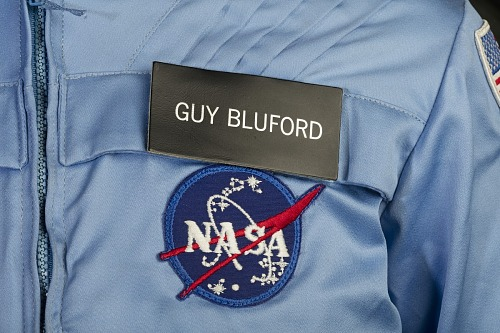 Name Tag, In-Flight Suit, Guy Bluford, STS-8