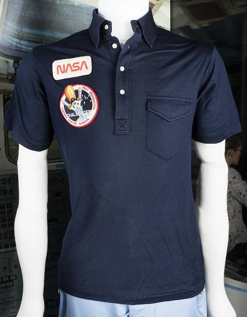Crew Shirt, Shuttle, STS-8, Guy Bluford