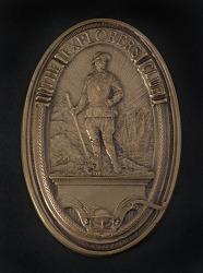 Medal, Explorers Club Medal, Lt. Lowell Smith