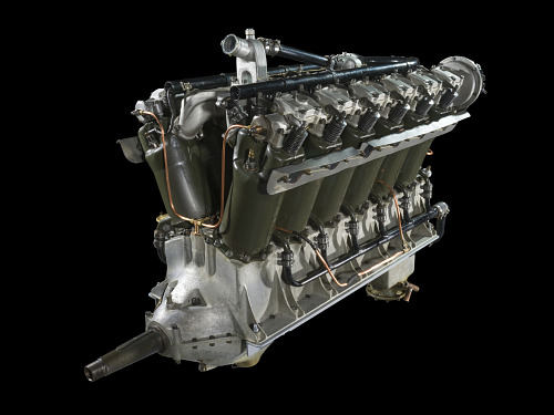 Liberty 12 Model A (Lincoln) V-12 Engine