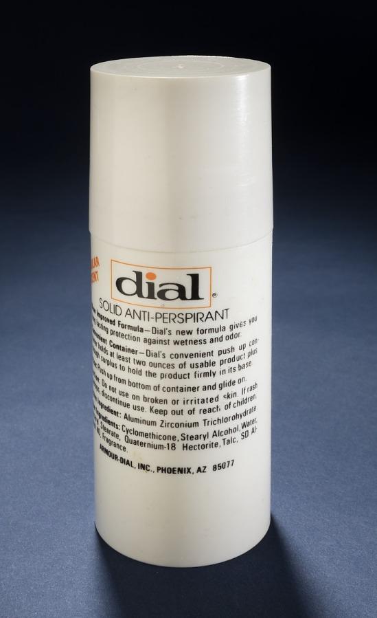 Antiperspirant, Personal Hygiene Kit, Shuttle, STS-7, 8, 9