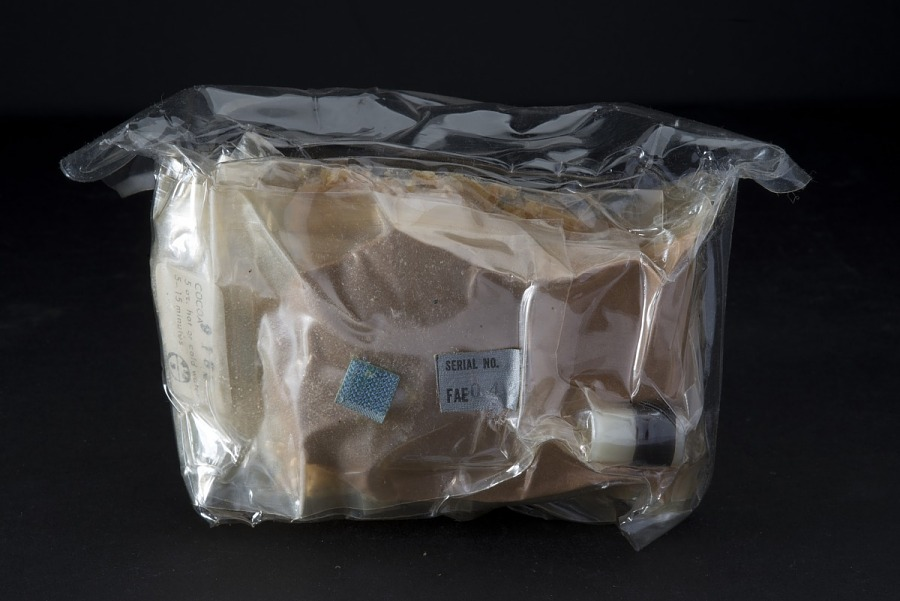 Space Food, Meal Package, Day 5, Meal C, Gemini (Blue)