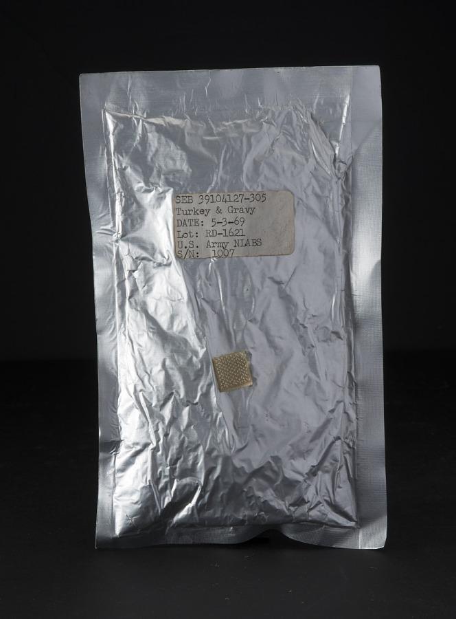 Space Food, Turkey and Gravy, Apollo (White)