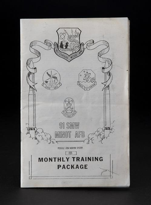 Booklet, Training, USAF Missile Crewman