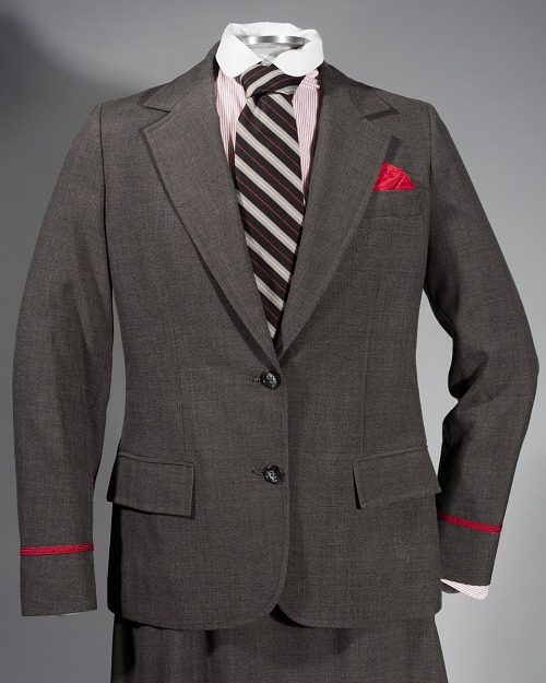 Coat, Flight Attendant, New York Air