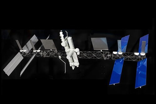 Model, Space Station Freedom, 1:100