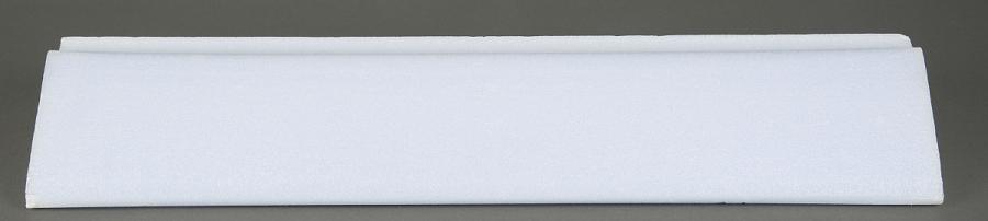 Rectangular white Foam Canard Core