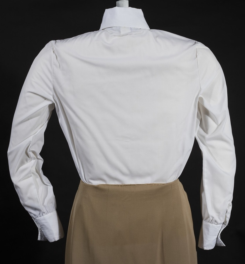 Blouse, Flight Attendant, Continental Airlines, ca. 1941