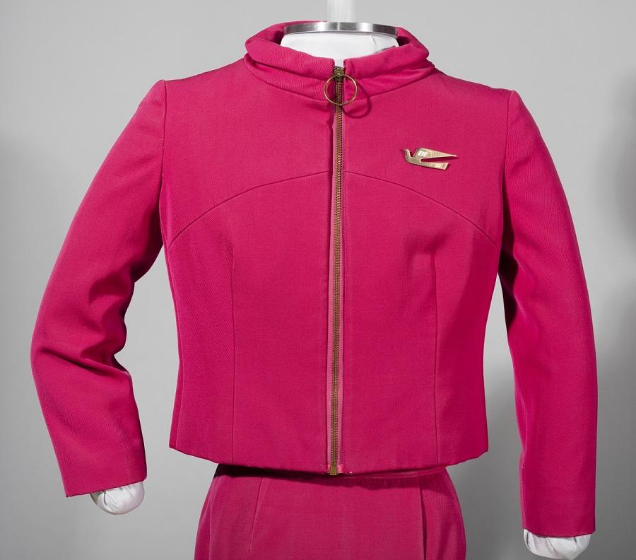 Jacket, Flight Attendant, Braniff International Airways