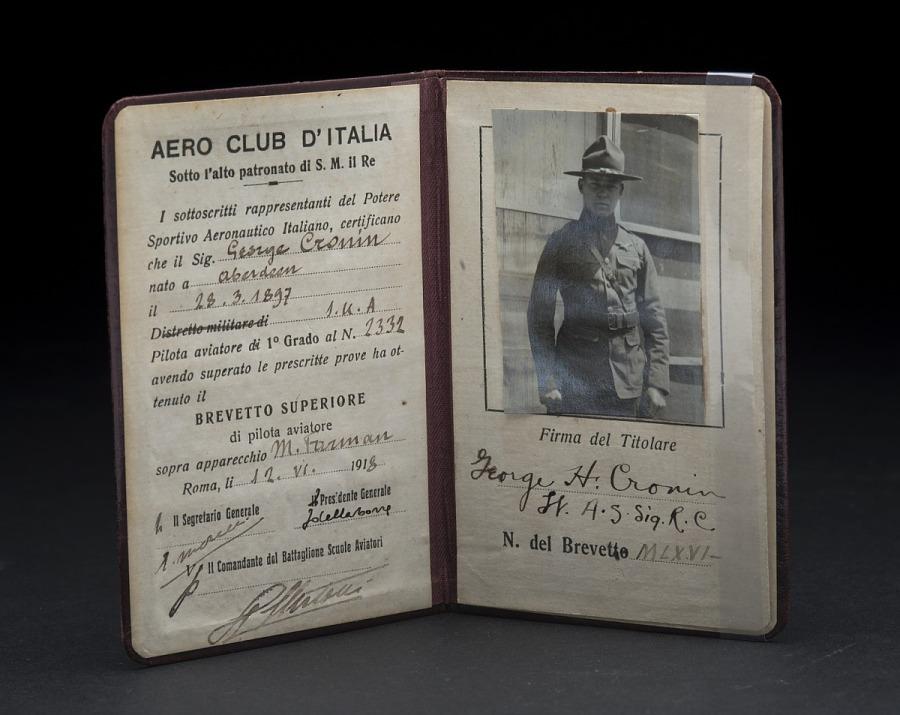 License, Aviator's, Brevetto Superiore