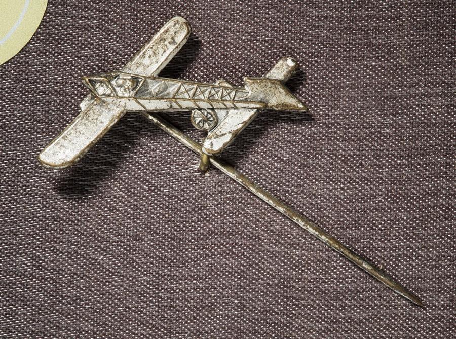 Pin, Lapel, Bleriot XI