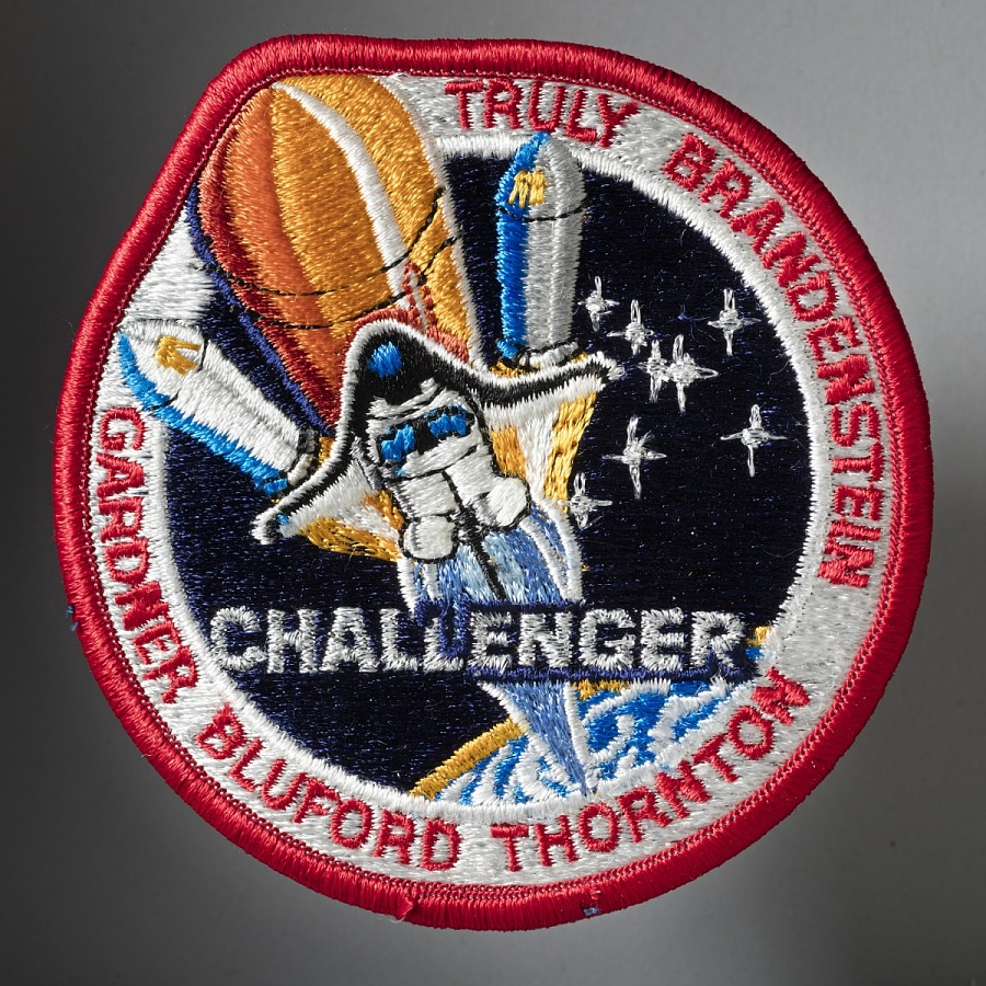 Patch, Mission, Shuttle, STS-8