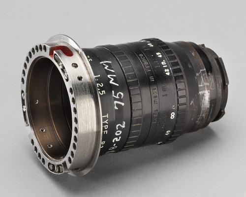 Lens, 75mm, Data Acquisition Camera, Apollo 11