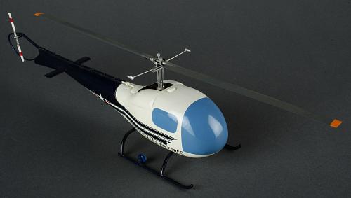 Model, Static, Bell H-13J
