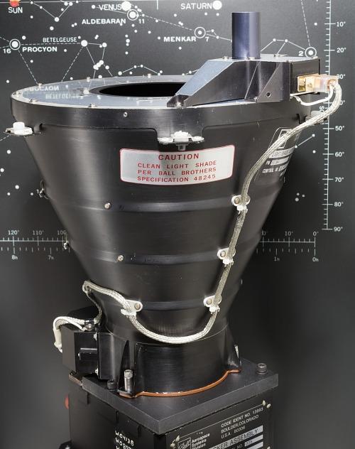 Light Shade Assembly, Star Tracker, Shuttle, Columbia