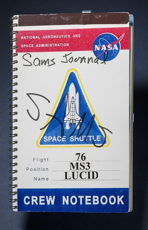 SAMS Crew Logbook, Shannon W. Lucid
