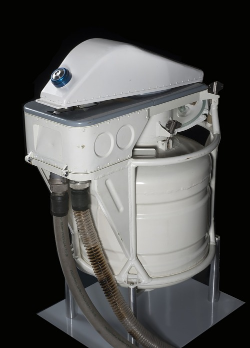 Human Waste Disposal Unit, Mir Space Station, Female Configuration
