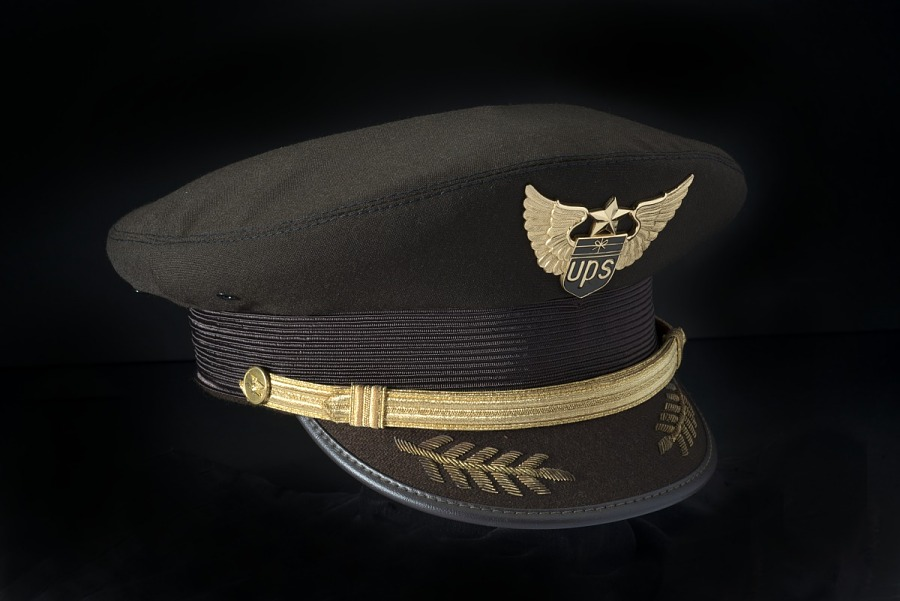 Cap, Pilot, United Parcel Service (UPS)