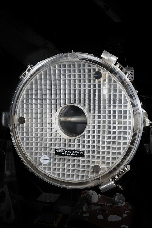 Circular Hubble Space Telescope Primary Backup Mirror