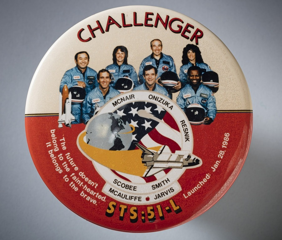 Button, Challenger, STS-51L