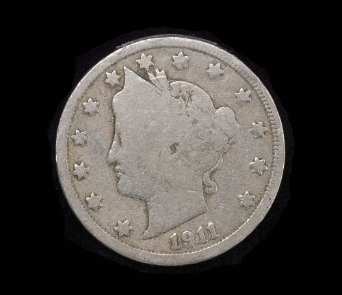 Coins, 5 Cents/Nickle, United States, Lindbergh