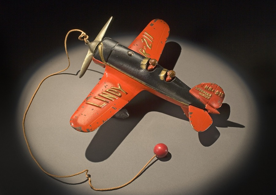 Toy, Airplane, Lindbergh, King Collection