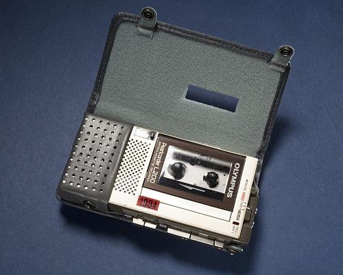 Microcasette Recorder, Space Shuttle
