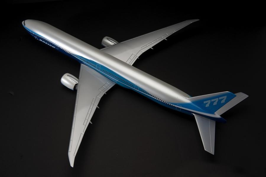 Model, Static, Boeing 777