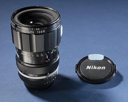 Lens, 35mm/70mm, Zoom, Nikon, Shuttle