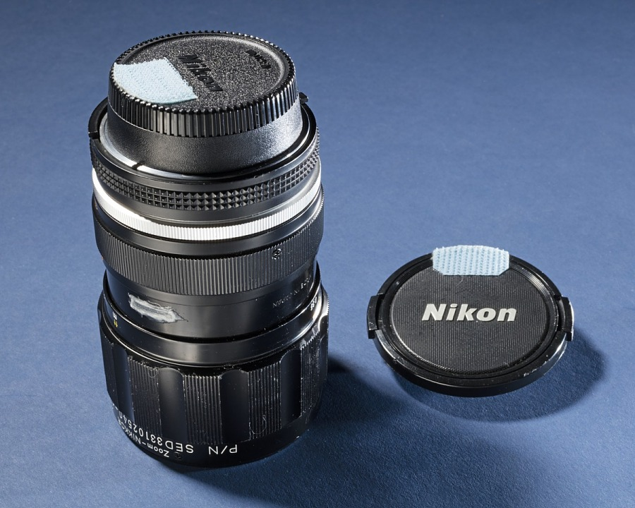 Lens, 35mm/70mm, Zoom, Nikon, Shuttle