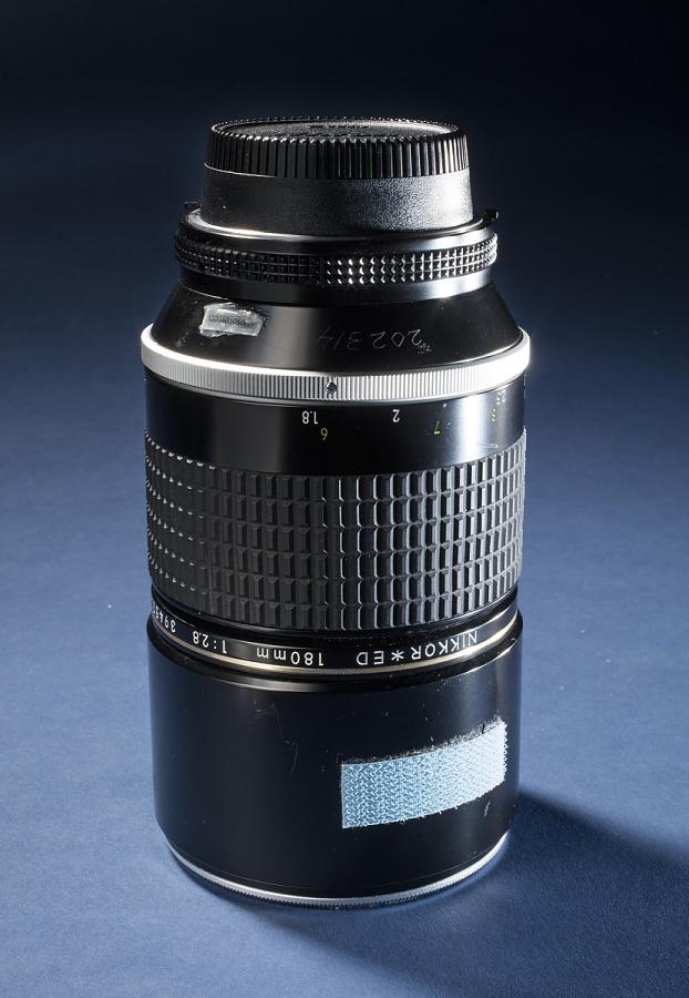 Lens, 180mm F/2.8A, Zoom, Nikon, Shuttle