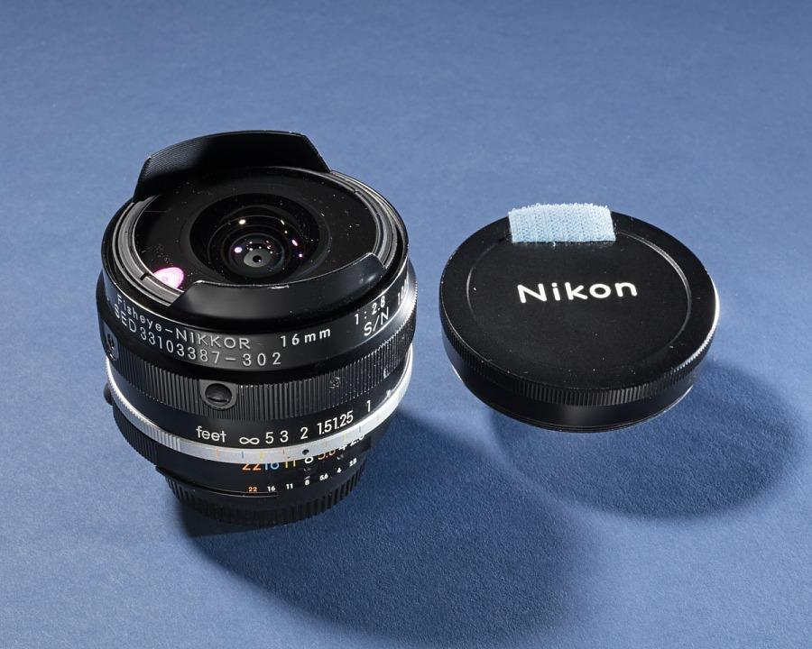 Lens, 16mm, Fisheye, Nikon, Shuttle