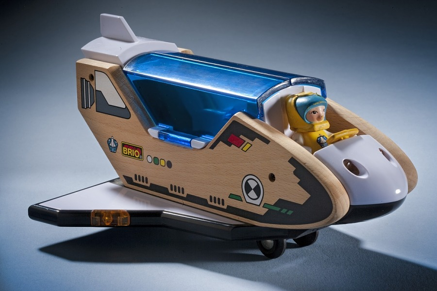 Toy, Space Shuttle, Lights & Sounds, Brio