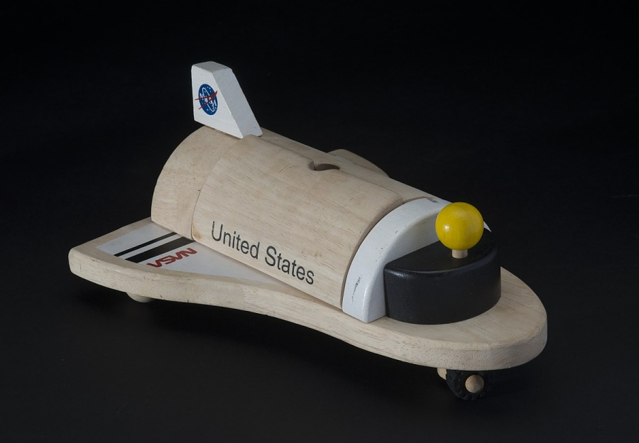 Toy, Space Shuttle, Wooden
