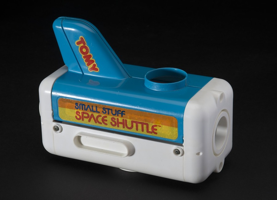 Toy, Play Set, Small Stuff Space Shuttle, Tomy Shuttle Main Bay with Cargo Doors