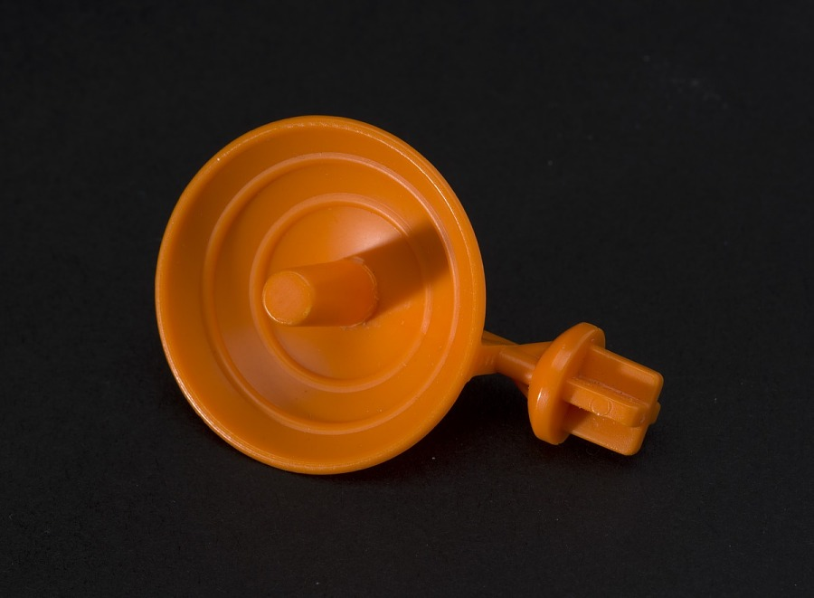 Toy, Play Set, Small Stuff Space Shuttle, Tomy Orange Dish Accessory