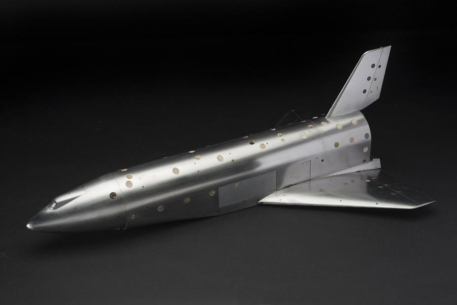 Model, Wind Tunnel, Convair Space Shuttle, 0.006 scale
