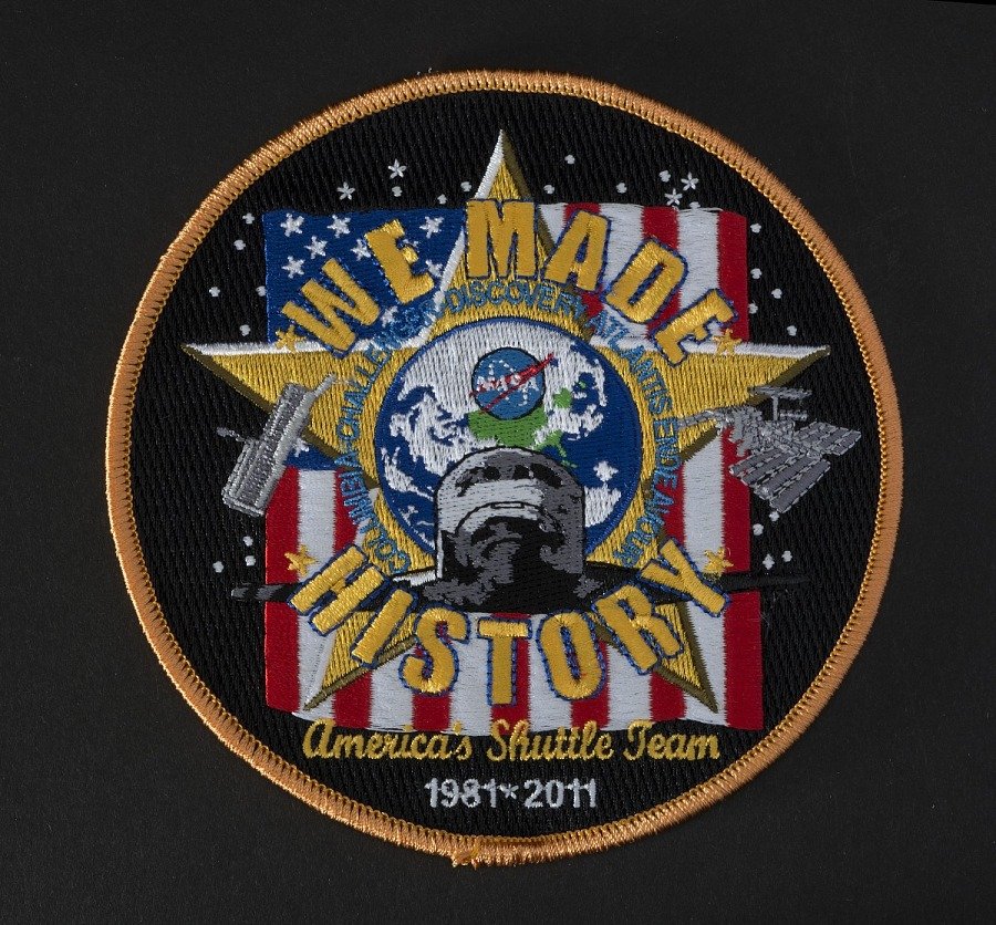Patch, Shuttle Program, 'We Made History'