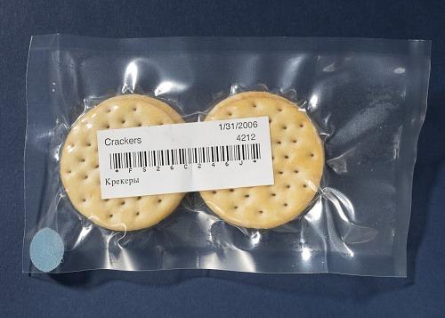 Space Food, Crackers, Shuttle
