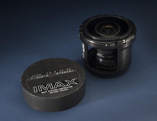 Lens, 30mm Fisheye, IMAX, with Bumper Ring