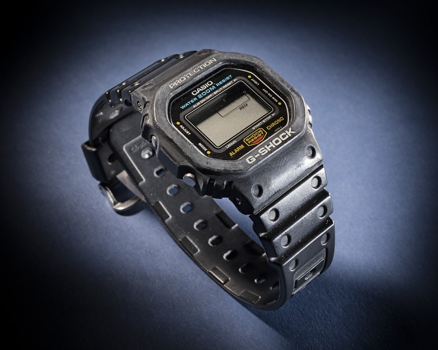 Wristwatch, Casio G-Shock, Shuttle