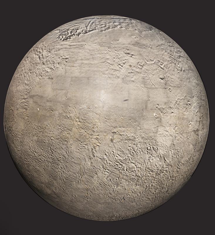 Image 1 for Photomosaic Globe of Mars