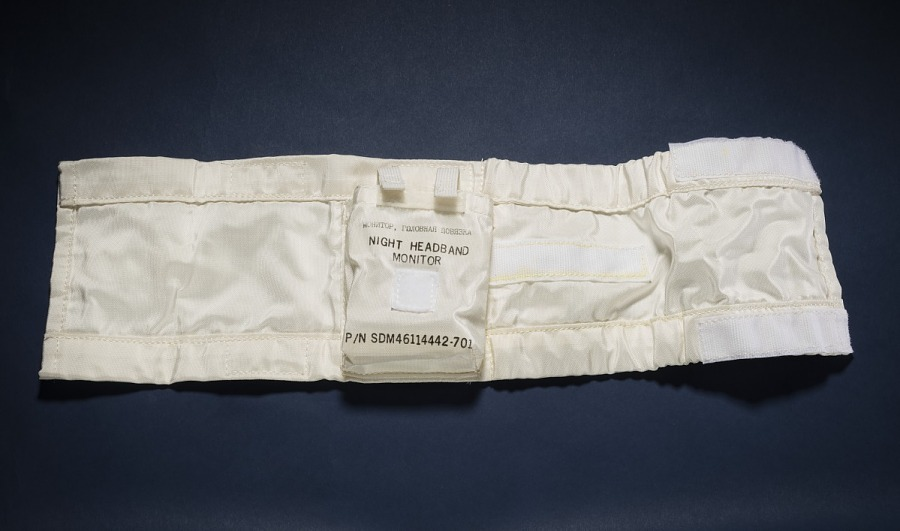 Armband, Night Headband Sleep Experiment, Shuttle-Mir Science Project