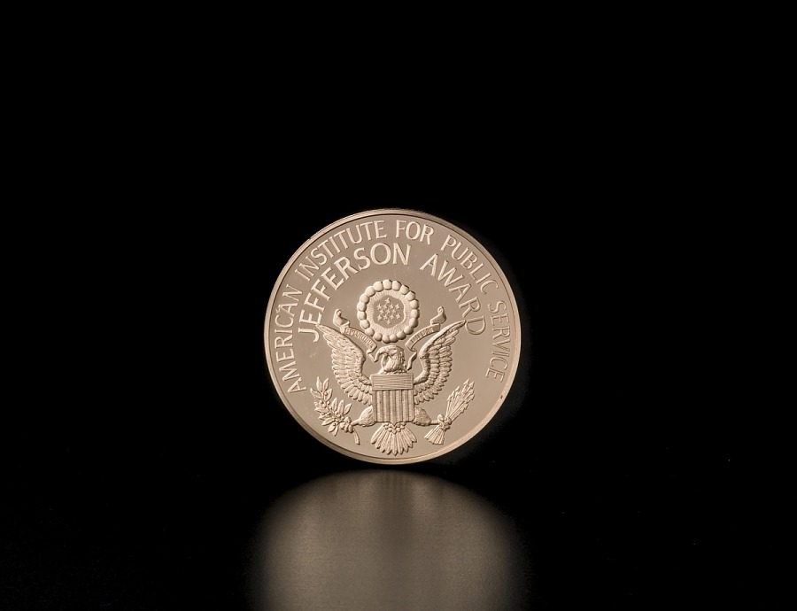 Medal, Jefferson Award, American Institute of Public Service